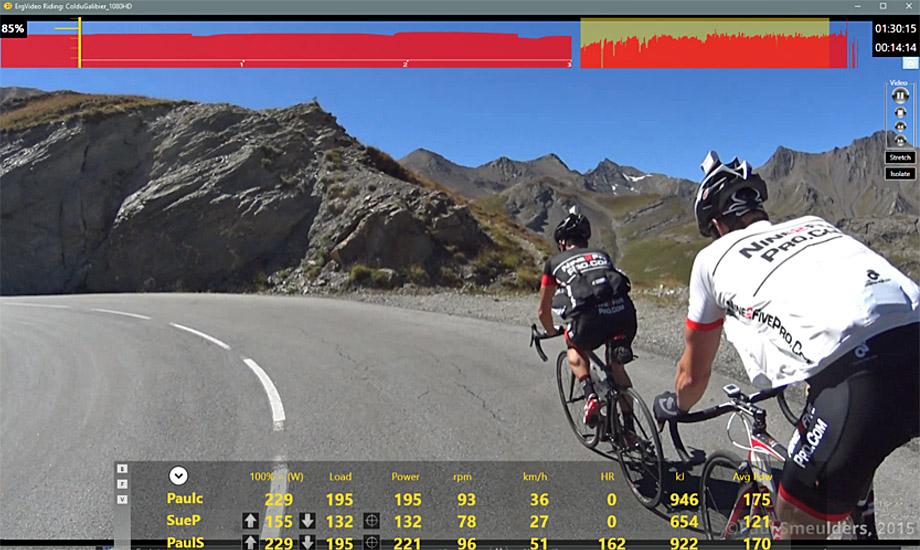 Logiciel Cyclo Training ERG Video
